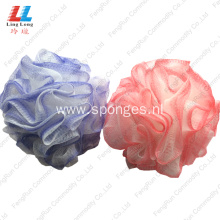 two color loofah bathroom sponge bath cleaner